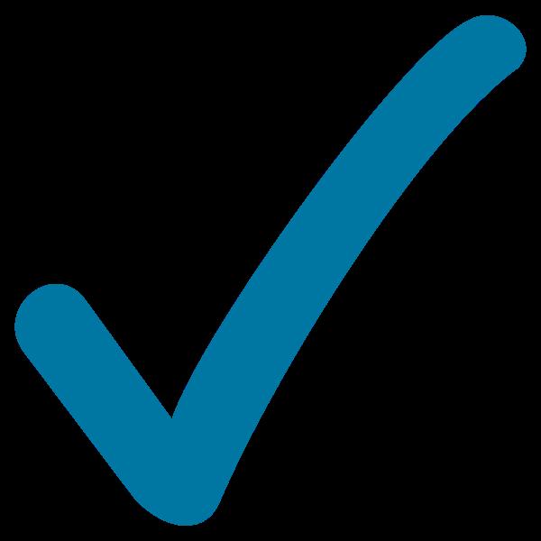 Resultado de imagen de signos visto bueno en azul